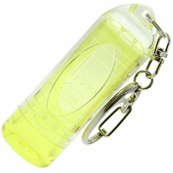 Lipstock Tip Case Clear Yellow