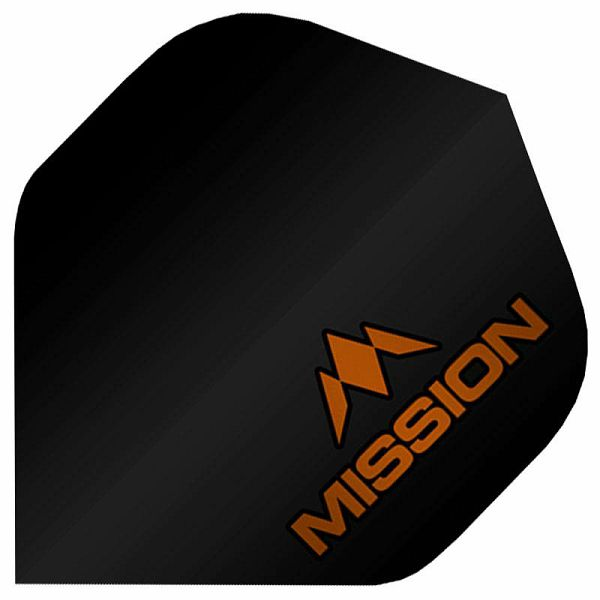 Logo No.2 UV Finish Black Orange