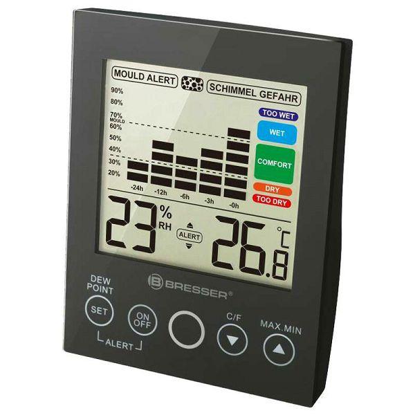 MA digital Hygrometer Black