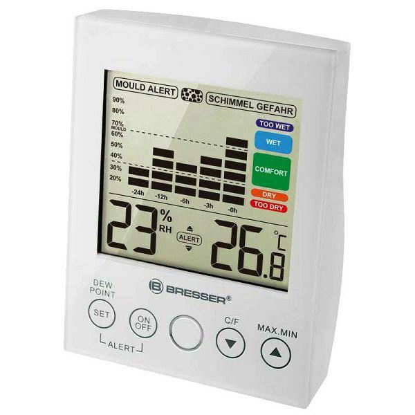 MA digital Hygrometer White