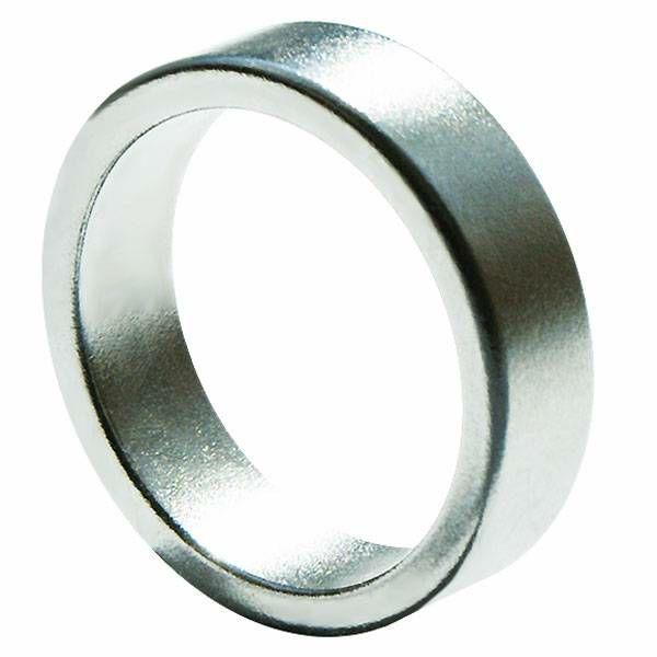 Magnetski prsten Flat Silver 18 mm