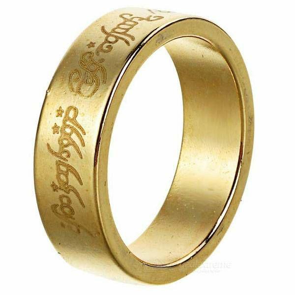 Magnetski prsten Gold Letters 18 mm