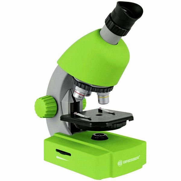 Mikroskop Bresser 40x-640x Green
