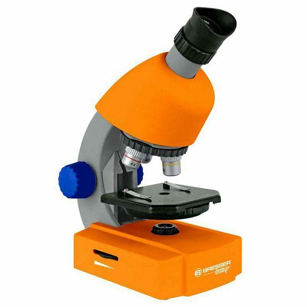 Mikroskop Bresser 40x-640x Orange