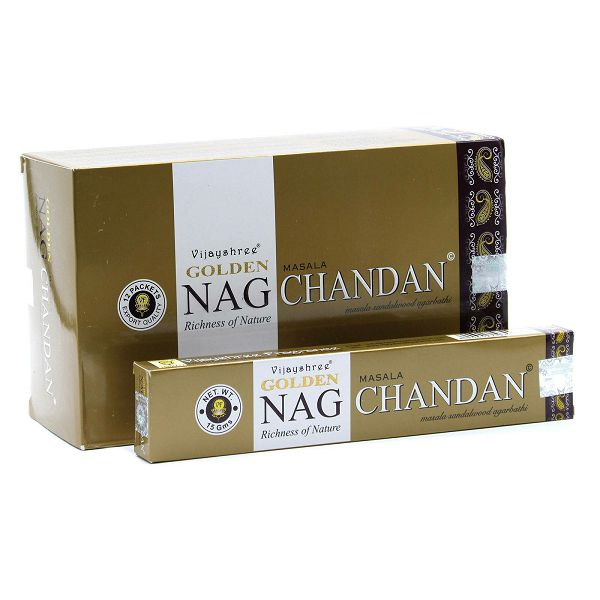 Mirisni štapići Golden Nag Chandan