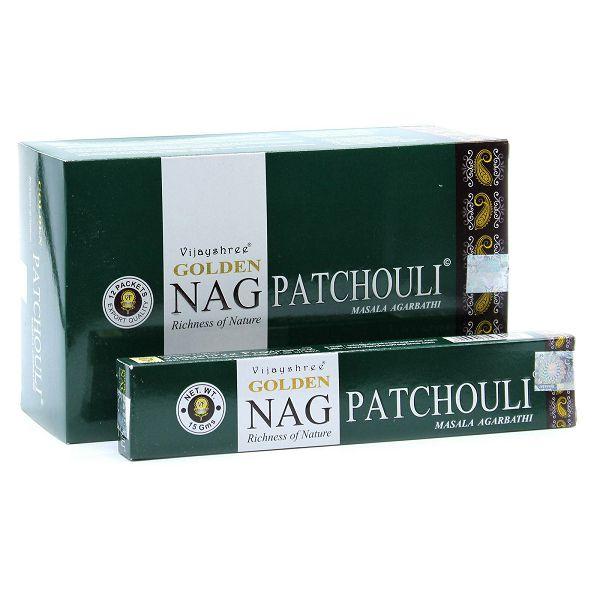 Mirisni štapići Golden Nag Patchouli