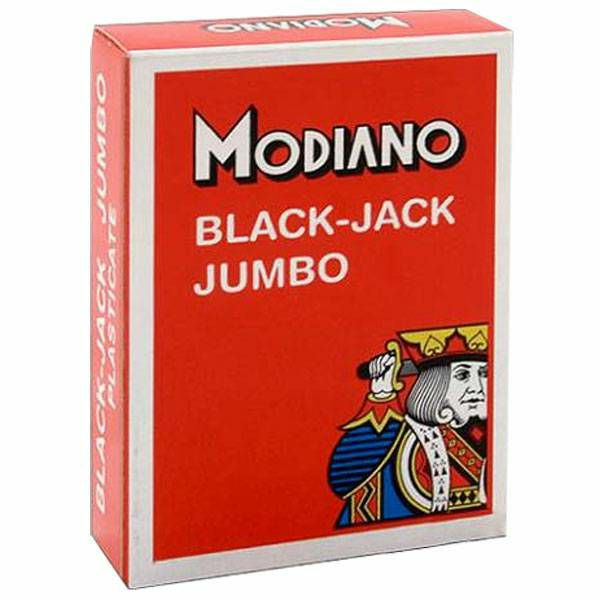 Modiano Black Jack Red Jumbo