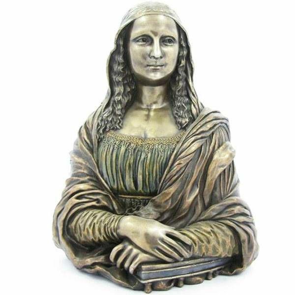 Mona Lisa Leonardo Da Vinci 23 cm