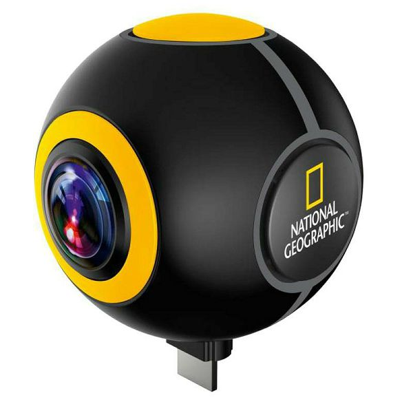 National Geographic Android Action Camera Spy