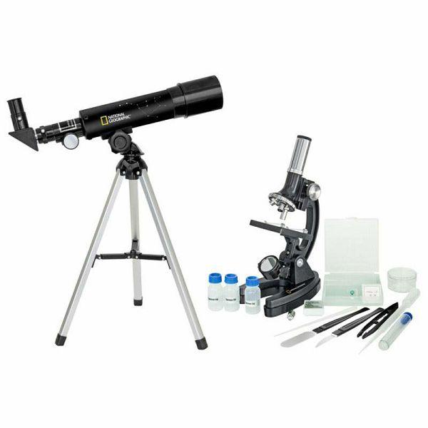 National Geographic Set Teleskop & Mikroskop