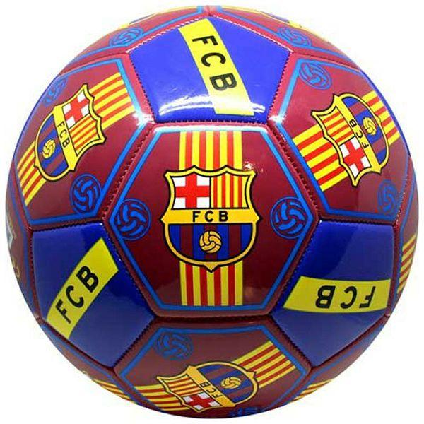 Nogometna lopta FC Barcelona All Logos 5