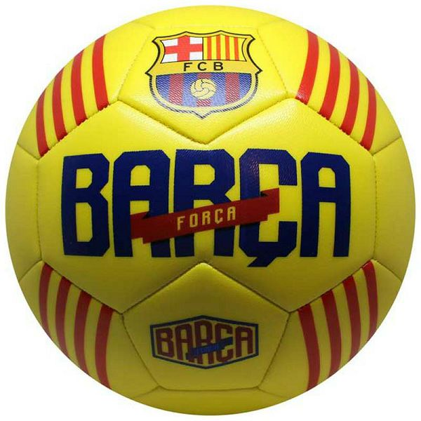 Nogometna lopta FC Barcelona Yellow 5