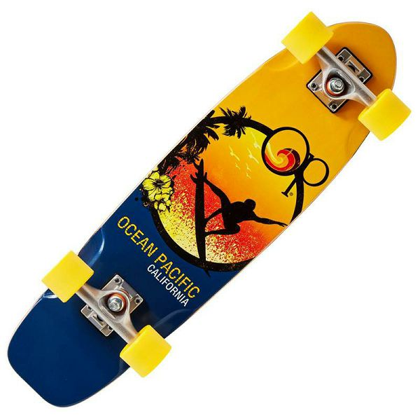 Ocean Pacific Cruiser Skateboard Orange