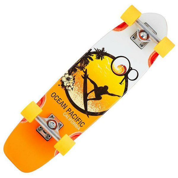 Ocean Pacific Cruiser Skateboard Surfer