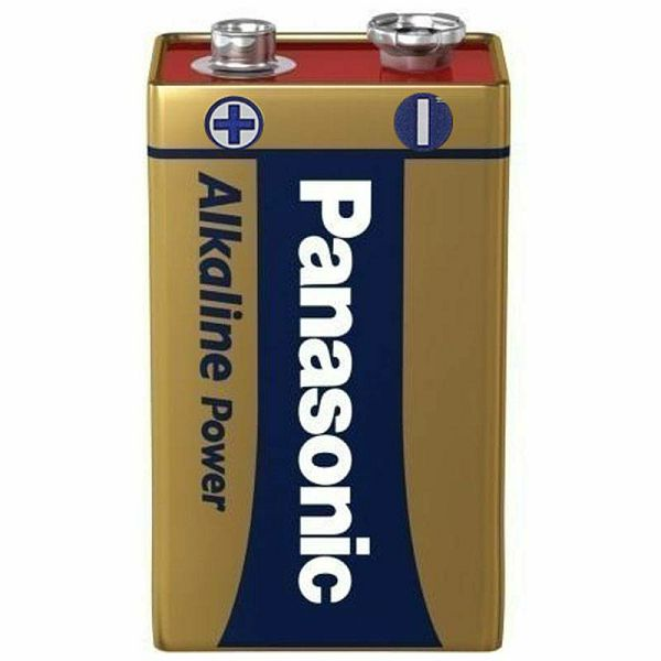 Panasonic Alkaline Power 9V block