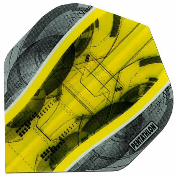 Pentathlon Silver Edge Standard Yellow