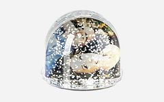 Photo Glitter Ball Snow 6.9 x 6.3 GK080W