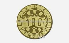 Pikado amblem zlato 22368