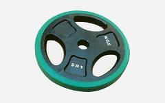 Pločasti gumirani utezi 30mm 2x2.5 kg