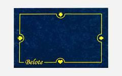 Podloga za belot 60x40 plava