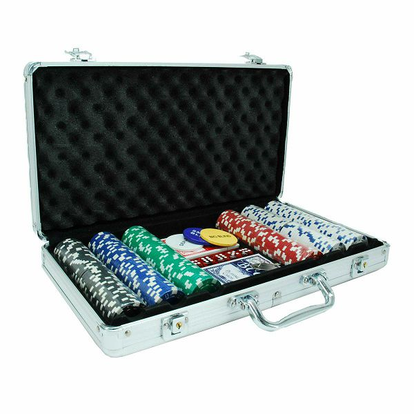Poker Set Dice 300 chips