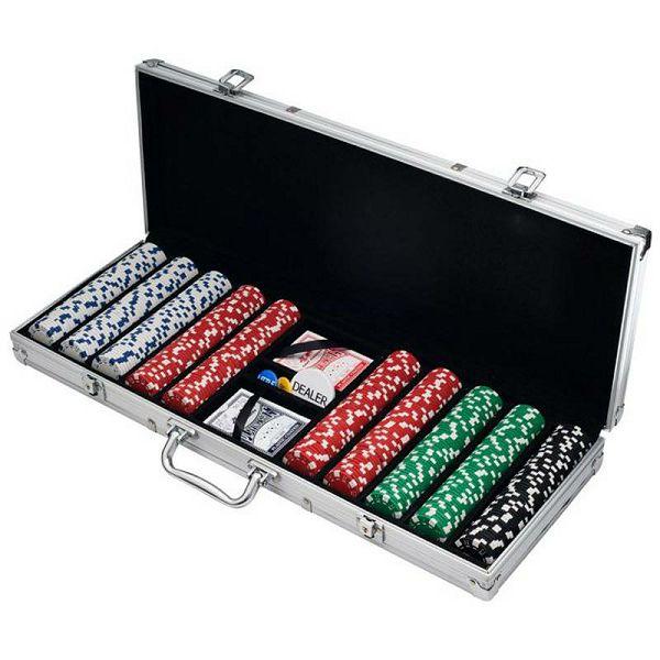 Poker set Dice 500 žetona
