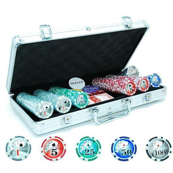 Poker set Royal Flush 300 Laser