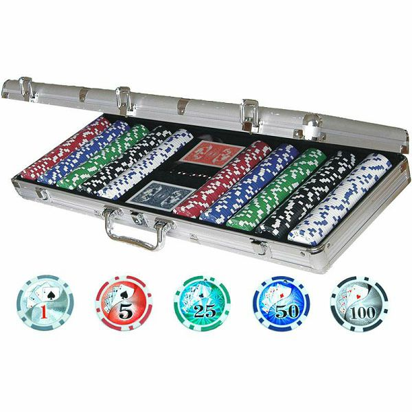 Poker set Royal Flush 500 Laser