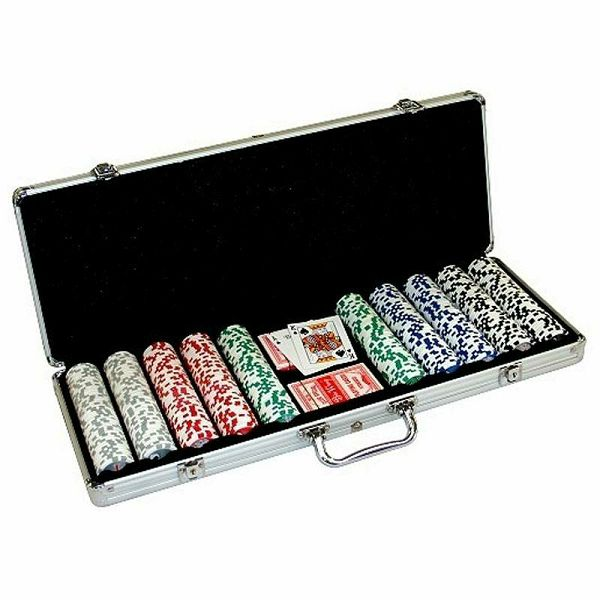 Poker Set Royal Flush 500 chips