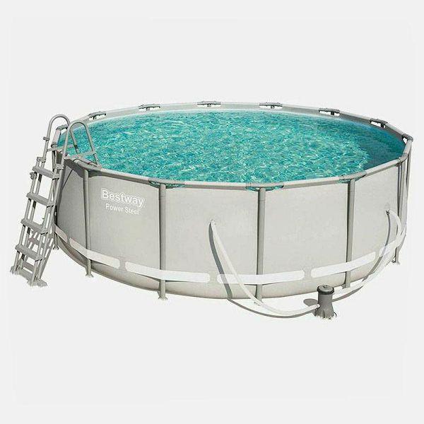 Power Steel Pool 427 x 107 cm