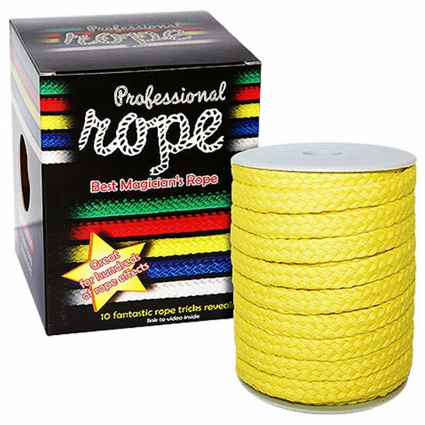 Professional Rope Super Soft Yellow 15 m