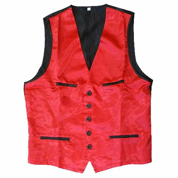 Prsluk za mađioničare crveni XL