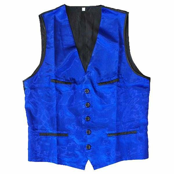 Prsluk za mađioničare plavi XL