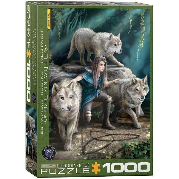 Puzzle Anne Stokes - The Power of Three