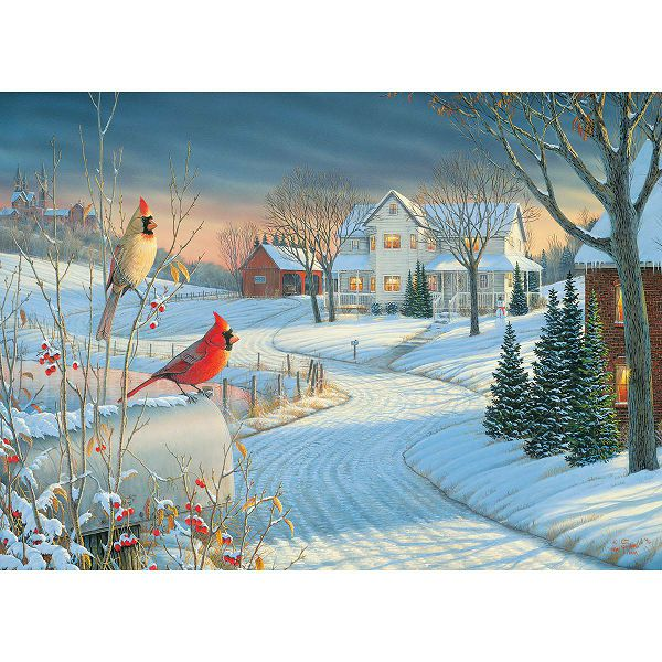 Puzzle Country Cardinals by Sam Timm