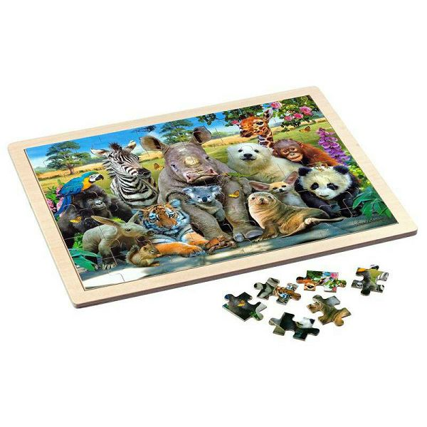 Puzzle Exotic Wildlife