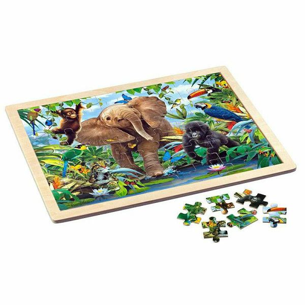 Puzzle Junior Jungle