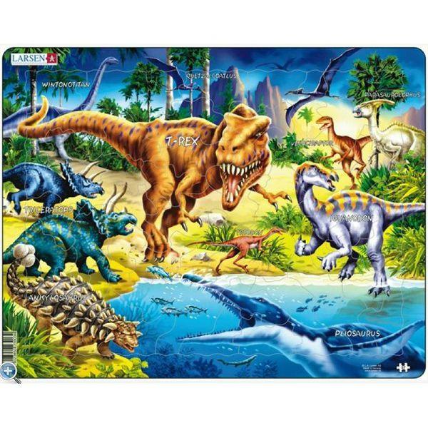Puzzle Larsen Dinosaurs
