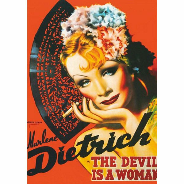 Puzzle Marlene Dietrich The Devil is a Woman