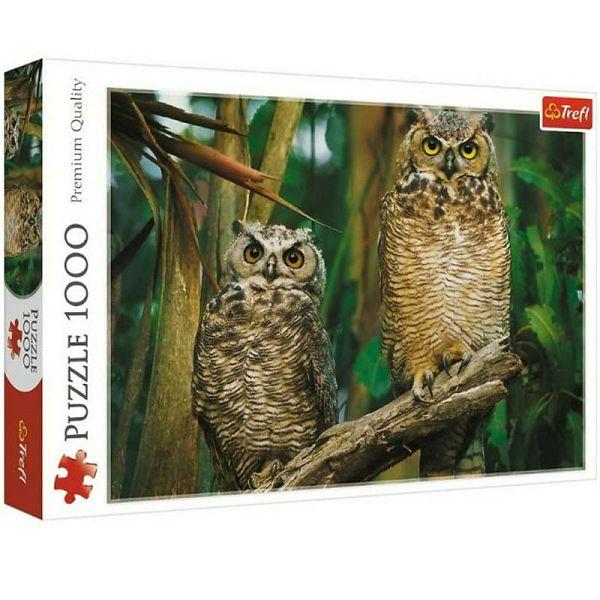 Puzzle Owls
