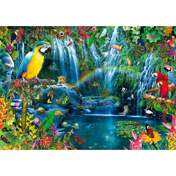Puzzle Parrot Tropics