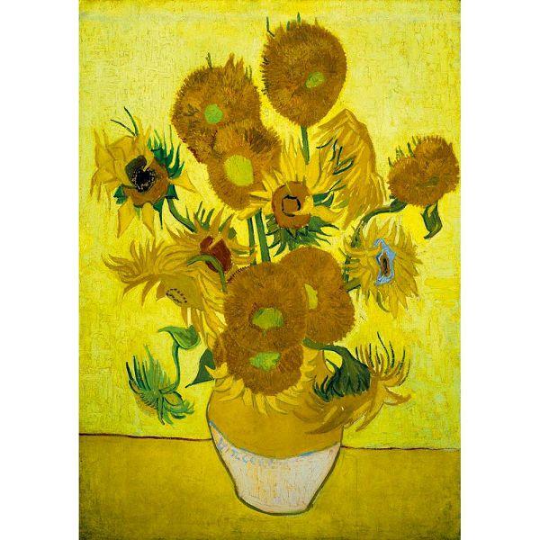 Puzzle Vincent Van Gogh - Sunflowers 1889