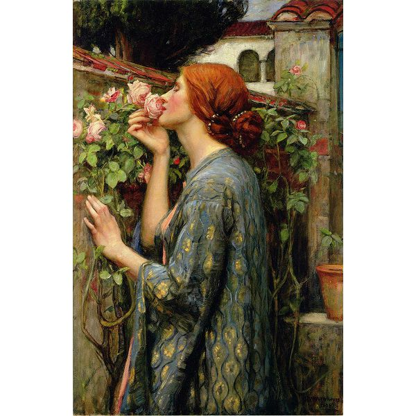 Puzzle Waterhouse John William The Soul of the Rose