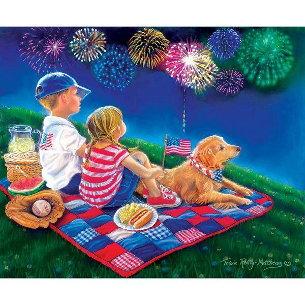Puzzle XXL Pieces - Fireworks Finale