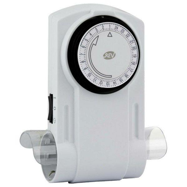 REV Mecanical Timer 2-fold white