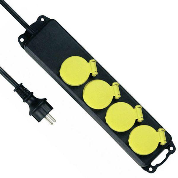 REV Multiple socket outlet 4-fold