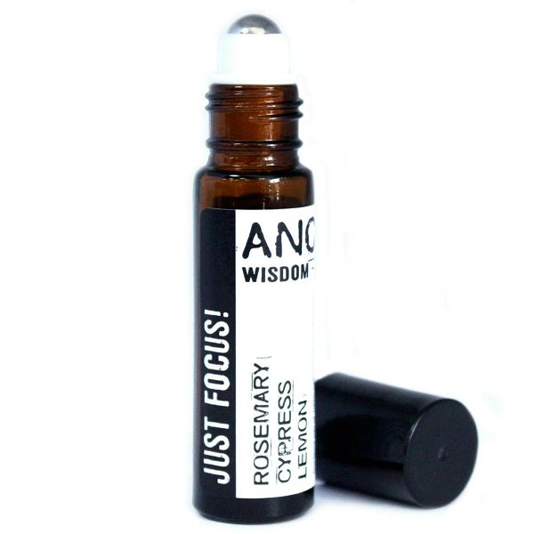 Roll On Essential Oil Blend - Just Focus 10 ml