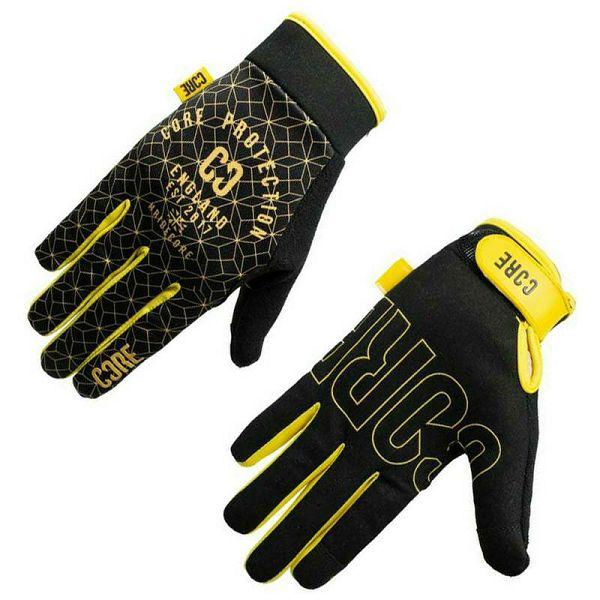 Rukavice Core Protection Black & Gold M
