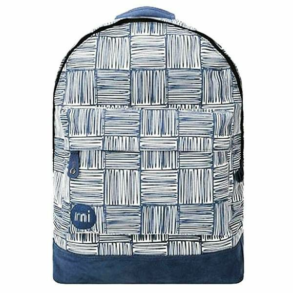 Ruksak Scribble Check Navy