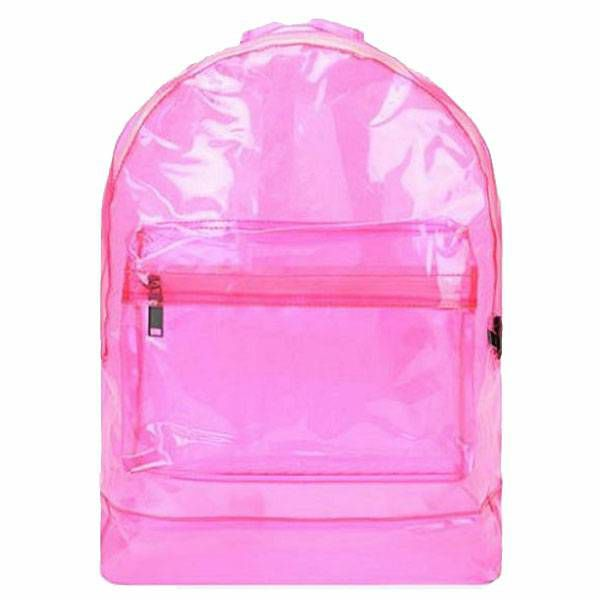 Ruksak Transparent Pink